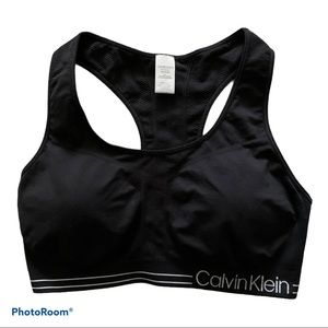 Calvin Klein Performance Sports Bra 1X Black